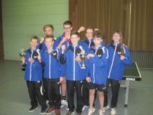 Schüler und Jugendliche Pokalsieger 2014-15