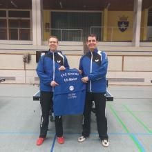 v.l. Vorstand Timo Hees mit Ulrich Meier