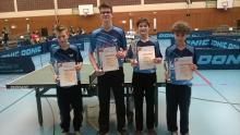 TTC Schüler Kronau Badischer Mannschaftsmeister 2015