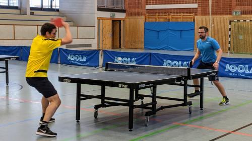 Christian vs. Björn im Finale